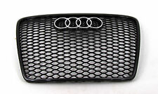Audi A6 S6  RS6 Style front grille gloss black mesh ti 05 06 07 08 09 10 11