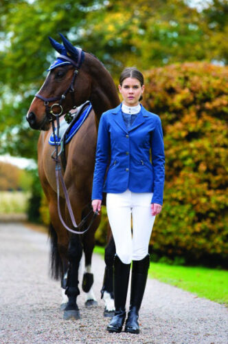 SALE Horseware Ladies Compeition Jacket Berry & Navy RRP 67.95