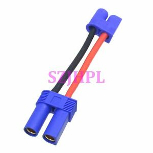 EC3-male-to-EC5-Female-Adapter-Power-Charge-cable-14AWG-5cm-Wire-RC-lipo-battery