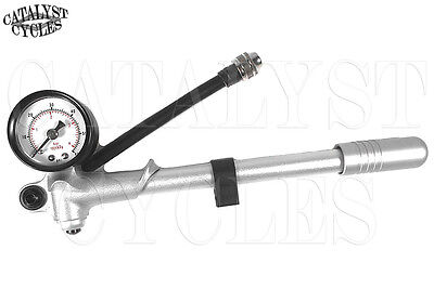 V-Factor #20120 Hi-Pressure 60 PSI Shock Pumps Harley Davidson Air Shocks Forks