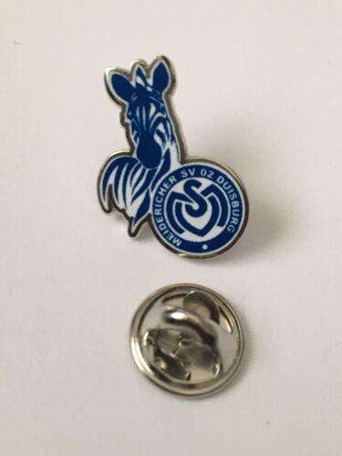 Pins Butterfly Anstecker Fußball Logo MSV Duisburg Wappen Meidenreich