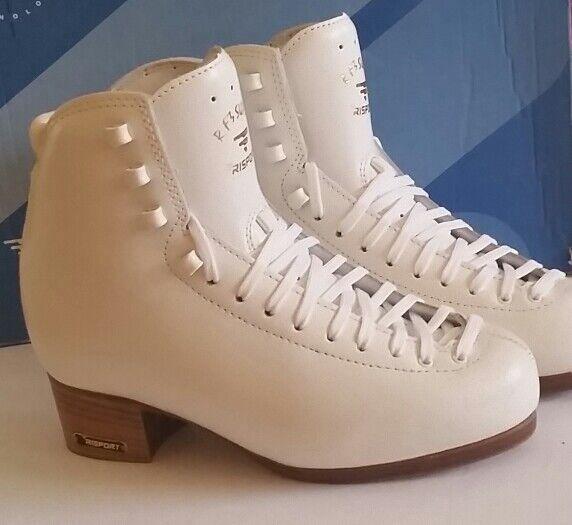 NEW Risport RF3 Super Ice Figure Skating Boots Lady C Size (Europa 24 = USA 5)