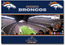 Broncos Denver Flexible Fridge Magnet SPORTS AUTHORITY FIELD AT MILE HIGH
