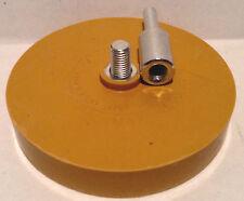 Rubber Eraser Wheel pinstripe sticker decal tape glue adhesive remover w/arbor