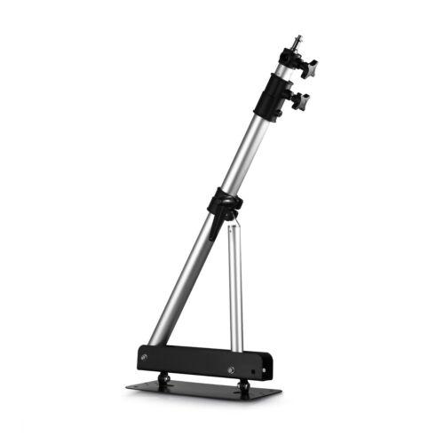 "Phot-R Photo Studio 136cm Wall Mount Boom Arm Light Support 5//8/"" Stud 1//4/"" 3//8/"""