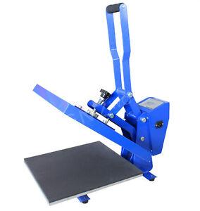 CLAM-Heat-Press-Machine-HPC480-38-x-38cm-HIGH-PRESSURE-Sublimation-T-shirt-Print