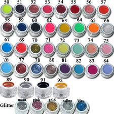 !! 10x !! Farbgel  Colorgel Farb-Gel UV Gel farbiges Nagelgel Set