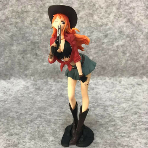 Anime One Piece Jeans Freak Nami PVC Figure Toy New In Box