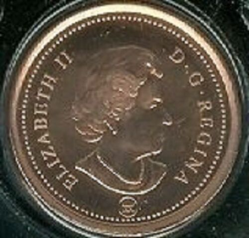 Non-Magnetic 2010 Penny 1 One Cent /'10 Canada-Canadian BU Coin UNC RCM Mark