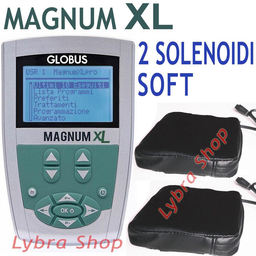 Globus G4279 MAGNUM XL - 2 Solenoidi SOFT magnetoterapia 400 Gauss magnetoterapia SOFT 26 prog ec2a62