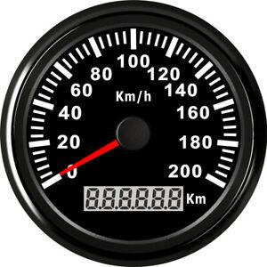 Tachometer Geschwindigkeit Digital MPH Anzeige KM//h Auto Auto Motorrad FOBR