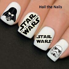 Uñas Wraps Nail Art transferencias de agua calcomanías Star Wars y769