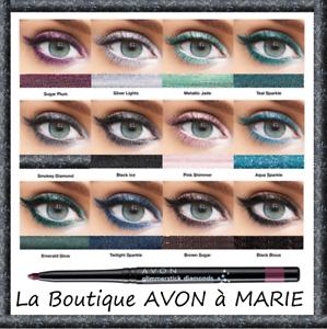 EYE-LINER-Scintillant-Crayon-Retractable-yeux-GLIMMERSTICK-DIAMOND-AVON-au-Choix