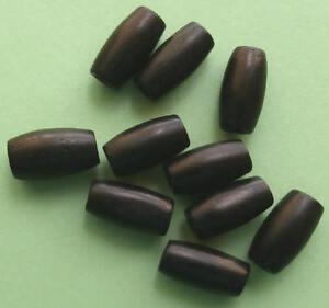 10-x-12mm-Black-Bone-Hairpipes-Hair-Pipe-Tube-Beads-Native-American-Craft