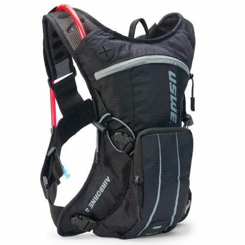Hydration Pack 2 L Bladder Black//Grey Hiking MTB MX Moto Airborne 3 USWE