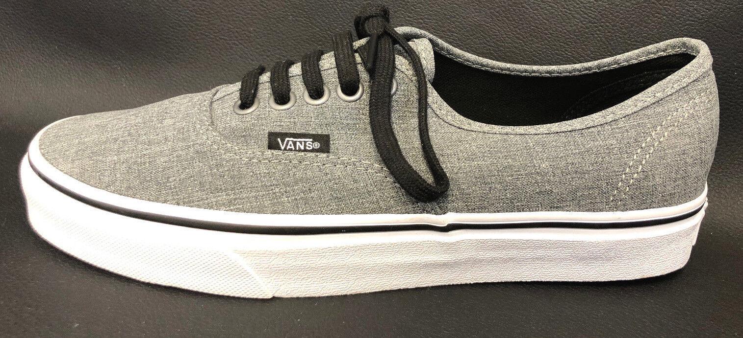 Mens Vans Washed grau grau grau Canvas Skate schuhe Größe US 7 TT21 d3f71b