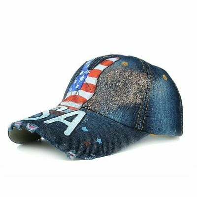Grunge Illustration of The American Flag T-Shirt Hooded with A Pocket Rope Hat Customization Fashion Novelty 3D Mens