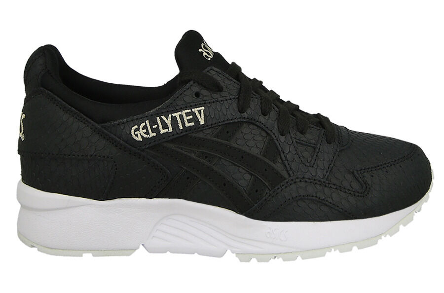 Asics Women's GEL-LYTE V Shoes NEW AUTHENTIC Black/White H7E8L-9090 The latest discount shoes for men and women