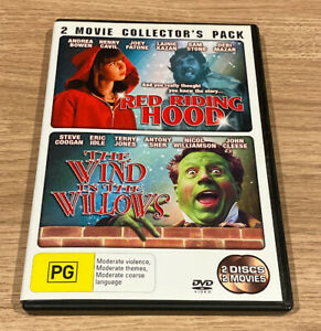 The-Red-Riding-Hood-Wind-In-The-Willows-2-Disc-Set-DVD-Region-4