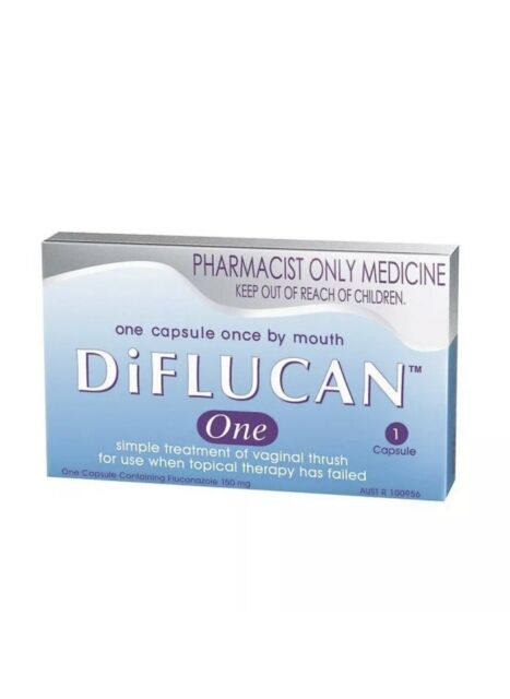 Diflucan One 150mg Capsule 1 Fungal Infection Medicine Vaginal Trush Treatment For Sale Online Ebay