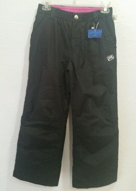 ZeroXposur Girls Black Snow Pants Size 5//6 NWT