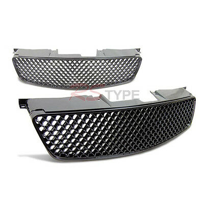 Fit 2002-2004 Altima Front Black Mesh 3D Hood Grille Honeycomb Grill