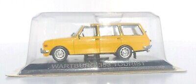 """DIE CAST /"""" WARTBURG 353 TOURIST /"""" LEGENDARY CARS SCALA 1//43"""