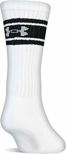 New UA UNDER ARMOUR Charged Cotton Crew Socks M L 3 or 6 Pairs