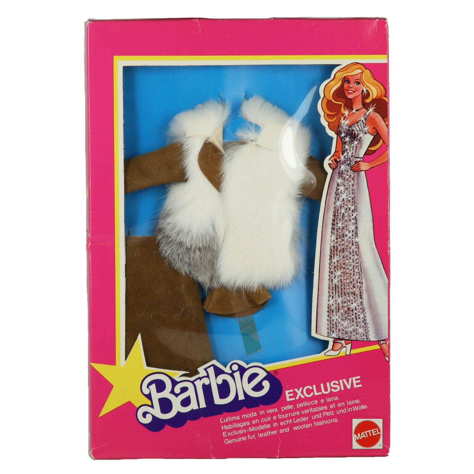 1979 Superstar Barbie European Exclusive Suede and Fur NRFB RARE