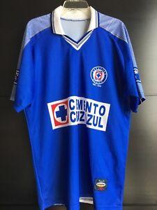 40401077e Image is loading Mexico-Cemento-Cruz-Azul-Soccer-Blue-Jersey