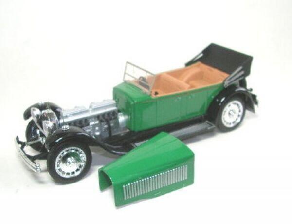 Bugatti 41 Royale (1927) verde (aperta)