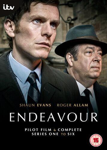 Endeavour Complete Series 1 - 6 Pilot 14 DVD BOXSET ITV Drama Morse FASTPOST