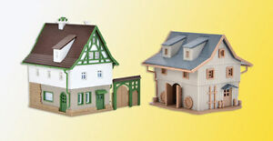 Image is loading Vollmer-49540-Z-Farmouse-with-Barn-and-Yard-