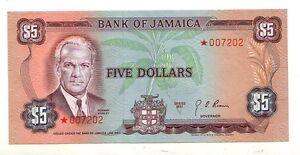 Giamaica-Jamaica-5-1960-1976-FDS-UNC-pick-61a-firma-4-rif-52