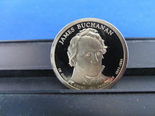 One Dollar 2010 S James Buchanan $1 Coin Deep Cameo Proof Upper Grading Ranges