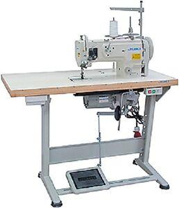 JUKI-dnu-1541-New-Industrial-Sewing-Machine-Triple-Transport-Servo-Table