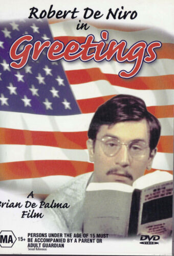 1 of 1 - GREETINGS Robert De Niro DVD R4 NEW - PAL