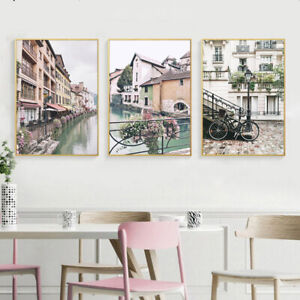 Scandinavian-Wall-Art-Canvas-Poster-Nordic-Scenery-Print-Home-Decoration-Picture
