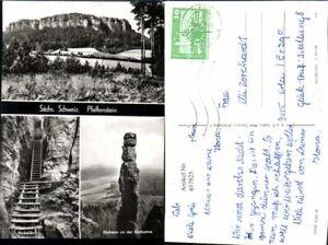 457925-Saechsische-Schweiz-Pfaffenstein-b-Koenigstein-Kletterer-Mehrbildkarte