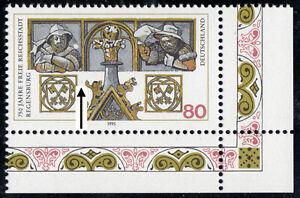Bund 1786 PF I (Regensburg), Michel-PLF Strich am Wappen