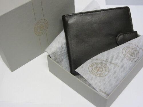 RAF//MOD Target Roundel Wallet Leather Gift Boxed Black//Brown Enamel emblem