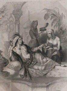 1837-PRINT-PERSIA-FINDENS-TABLEAUX-NATIONAL-CHARACTER-amp-COSTUME