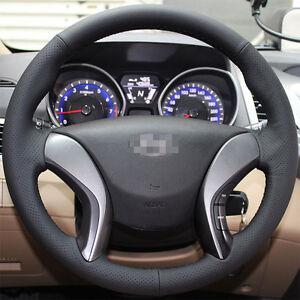 Steering-Wheel-Cover-for-Hyundai-12-16-Azera-11-Elantra-Sedan-I30-13