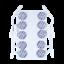 Indexbild 2 - TensCare Electrode pads. Square, Circular or Rectangular Shapes, 50 - 50/90/100