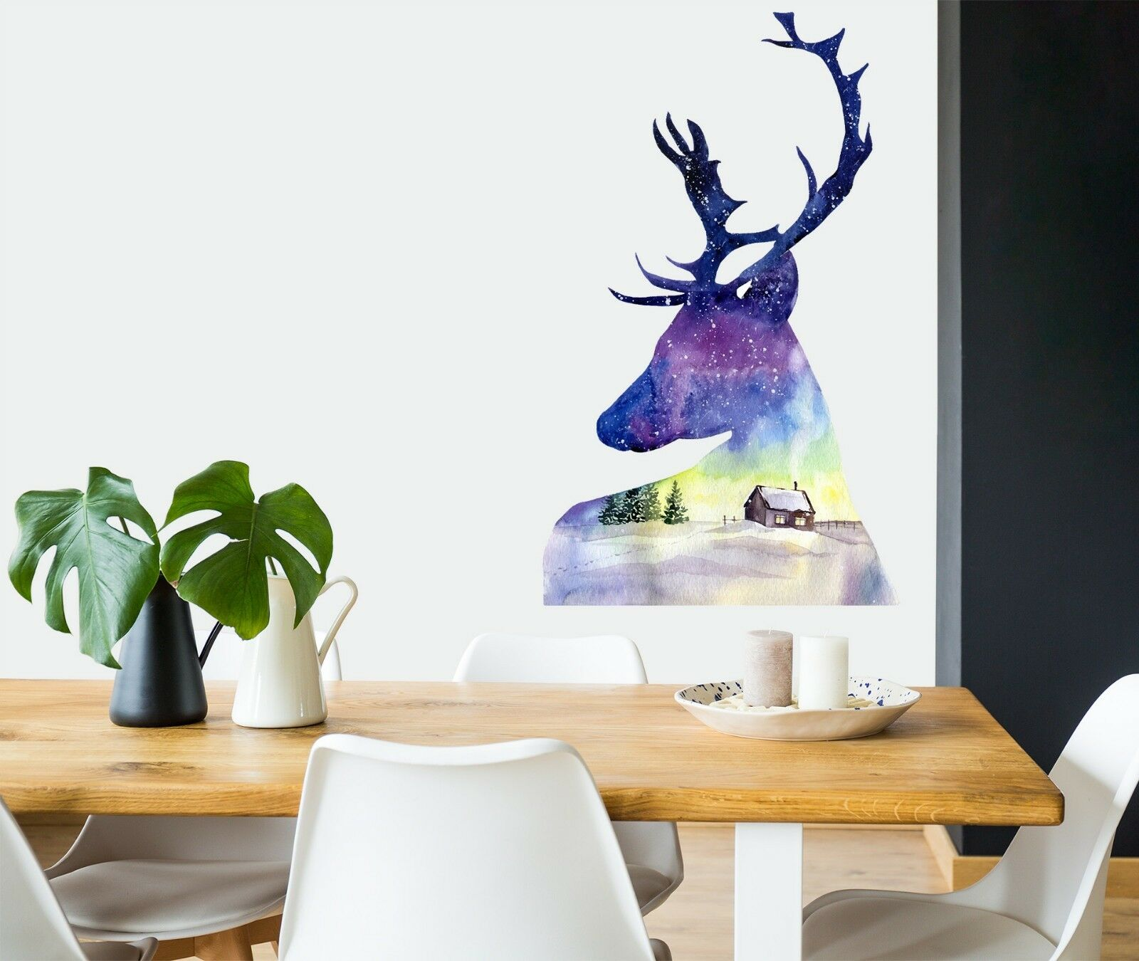3D Christmas Xmas Creative 4 Wallpaper Mural Floor Wall Print Decal Wall Sticker