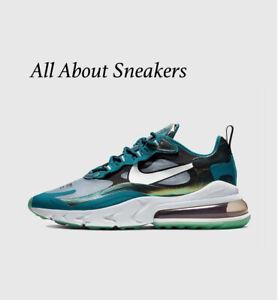 Dettagli su Nike AIR MAX 270 reagire Esclusivo Uomo Scarpe da ginnastica LIMITED STOCK Tutte le Taglie mostra il titolo originale