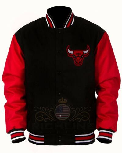 Best Seller Chicago Bulls Letterman Chicago Bulls Varsity Jacket