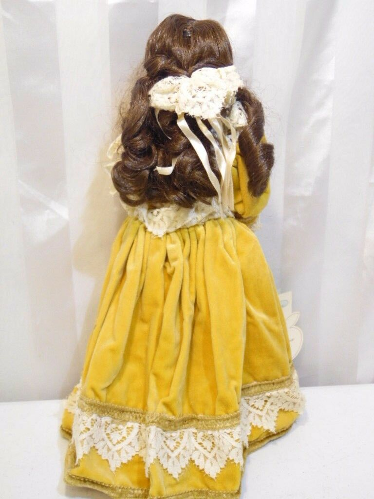 Valentina By Cleo Kiln FiROT Full Full Full Porcelain doll Fancy Hand Made Rare  5b4b2e