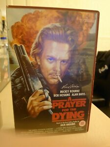 A-Prayer-for-the-Dying-Ex-Rental-Big-Box-VHS-Video-Mickey-Rourke