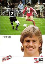 AK 4529 Falko Götz, Bayer 04 Leverkusen, Nationalspieler DDR, BFC Dynamo